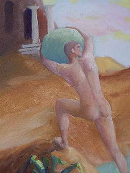 (C) Peinture de François Robert - collection privée -