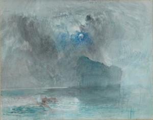 John Mallord William Turner (1775-1851) - Crayon et aquarelle - 22 x 28 cm