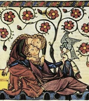 Tristan et Iseut - Couverture de l'édition anglaise de Joseph Bédier