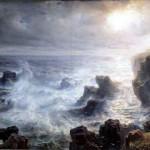 Tempête sur les côtes de Belle-Ile, Théodore Gudin (1802-1880)