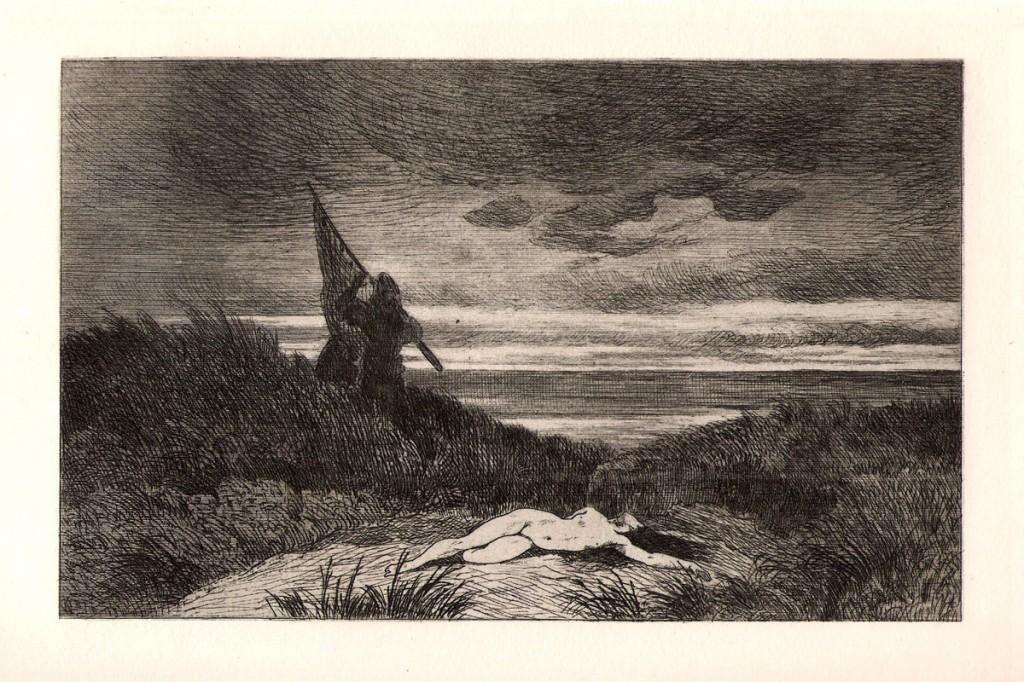 Félicien Rops - Le Werwolf