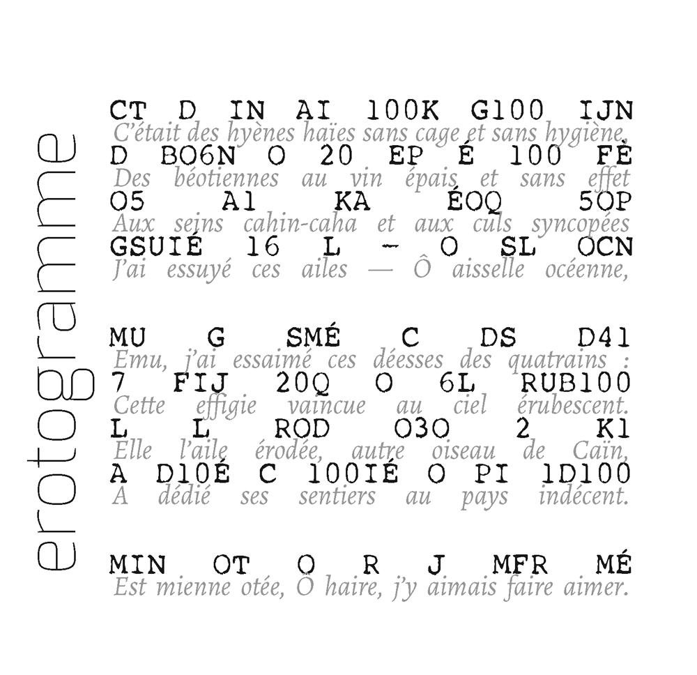erotogramme, Sébastien de Cornuaud-Marcehteau