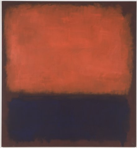 Mark Rothko, No. 14, 1960, 1960; oil on canvas, 114 1/2 in. x 105 5/8 in. (290.83 cm x 268.29 cm); Collection SFMOMA, Helen Crocker Russell Fund purchase; © 1998 Kate Rothko Prizel & Christopher Rothko / Artists Rights Society (ARS), New York  Source: http://www.sfmoma.org/explore/collection/artwork/22031#ixzz3i4mxjT1D San Francisco Museum of Modern Art